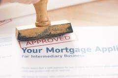 Mortgage loan Royalty Free Stock Photos