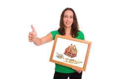 Mortgage for new house Royalty Free Stock Photo