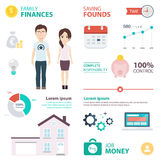 Mortgage Payment Infographic Royalty Free Stock Image