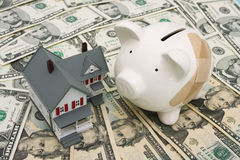 Mortgage Payment troubles Royalty Free Stock Photography