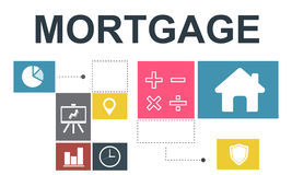 Mortgage Property Investment House Chart Concept Stock Photo
