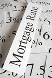 Mortgage Rate Concept Royalty Free Stock Image