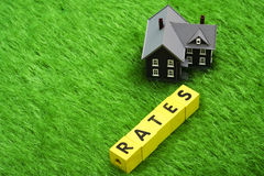 Mortgage Rates Stock Image