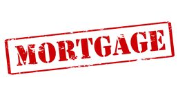 Mortgage. Rubber stamp with word mortgage inside,  illustration Royalty Free Stock Image