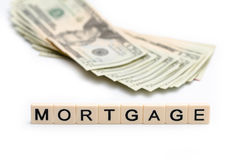 Mortgage stock image