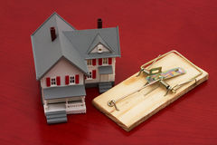 Mortgage Trap stock photos