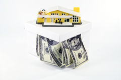 Mortgage your assets Stock Photos