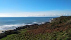 Morthoe Coast stock photos