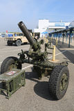 Mortier des USA Marine Corps M120 120mm image stock