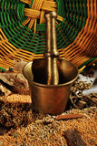 Mortier et Pestle1 Image stock