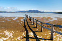 Mortimer Bay. With Mount Wellington in the background, Tasmania Stock Photos