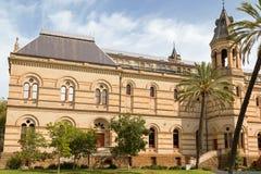 Mortlock-Bibliothek an der Front des australischen Südmuseums herein Stockfoto