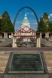 Morton D Anfiteatro del monumento de mayo imágenes de archivo libres de regalías