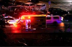 Mortos disparados homem pela polícia de Nova Zelândia Fotografia de Stock Royalty Free