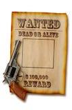 Morts ou vivant voulus Image libre de droits