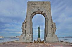` Morts Pomnikowy Aux Des Ukierunkowywa ` w Marseille, Francja zdjęcie royalty free