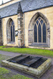 Mortsafe in Greyfriars Cemetery Stock Photos