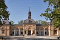 The Mortuary at Mirogoj cemetery royalty free stock photo