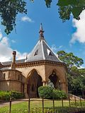 Mortuary Railway Station and Gardens, Sydney, Australia. The Mortuary Railway Station and Gardens, Regent Street, Chippendale, Sydney, Australia. An historic Stock Images