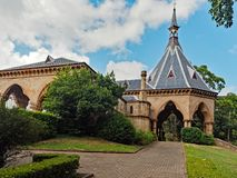 Mortuary Railway Station and Gardens, Sydney, Australia. The Mortuary Railway Station and Gardens, Regent Street, Chippendale, Sydney, Australia. An historic Royalty Free Stock Image