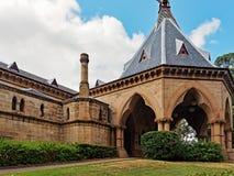 Mortuary Railway Station and Gardens, Sydney, Australia. The Mortuary Railway Station and Gardens, Regent Street, Chippendale, Sydney, Australia. An historic Royalty Free Stock Photos