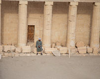 Mortuary Temple of Hatshepsut Royalty Free Stock Photos