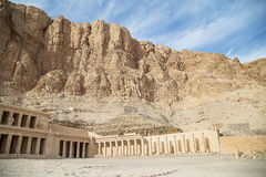 Mortuary Temple of Hatshepsut Stock Images
