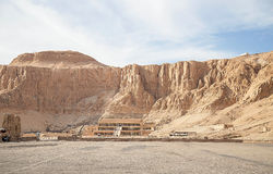 Mortuary Temple of Hatshepsut Royalty Free Stock Photography
