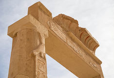 Mortuary Temple of Hatshepsut Royalty Free Stock Photos