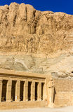 Mortuary temple of Hatshepsut in Deir el-Bahari Stock Photography