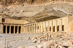 Mortuary temple of Hatshepsut in Deir el-Bahari Stock Image