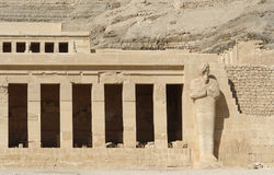 Mortuary Temple of Hatshepsut detail Stock Images
