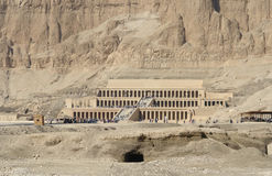 Mortuary Temple of Hatshepsut in Egypt Royalty Free Stock Photos