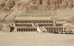 Mortuary Temple of Hatshepsut Royalty Free Stock Images