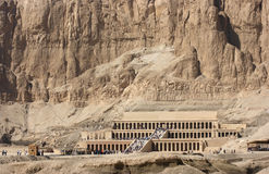 Mortuary Temple of Hatshepsut in Egypt Stock Photo