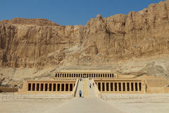 Mortuary Temple of Hatshepsut in Luxor Royalty Free Stock Images