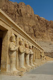 Mortuary Temple of Hatshepsut in Luxor Stock Photography