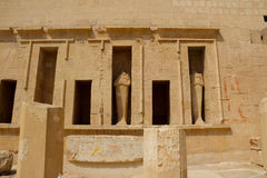 Mortuary Temple of Hatshepsut in Luxor Stock Photo