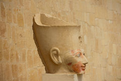 Mortuary Temple of Hatshepsut in Luxor Royalty Free Stock Photos