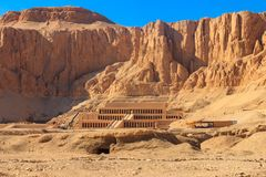 Mortuary Temple of Hatshepsut. In Luxor, Egypt stock images