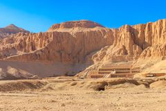 Mortuary Temple of Hatshepsut. In Luxor, Egypt stock photos