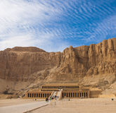 Mortuary Temple Of Hatshepsut Stock Photography