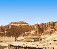The Mortuary Temple of Queen Hatshepsut Royalty Free Stock Photo