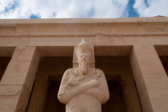 Mortuary Temple of Queen Hatshepsut Royalty Free Stock Photo