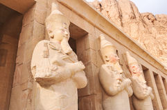 Mortuary Temple of Queen Hatshepsut Royalty Free Stock Photography