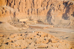 Mortuary Temple of Queen Hatshepsut Stock Photos