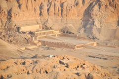 Mortuary Temple of Queen Hatshepsut Royalty Free Stock Photos