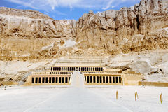 Mortuary temple of Queen Hatshepsut. Luxor, Egypt.  Royalty Free Stock Photo
