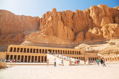 The Mortuary Temple of Queen Hatshepsut Royalty Free Stock Photography