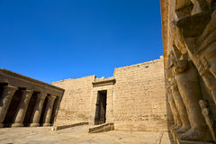 Mortuary Temple of Ramesses III Stock Images